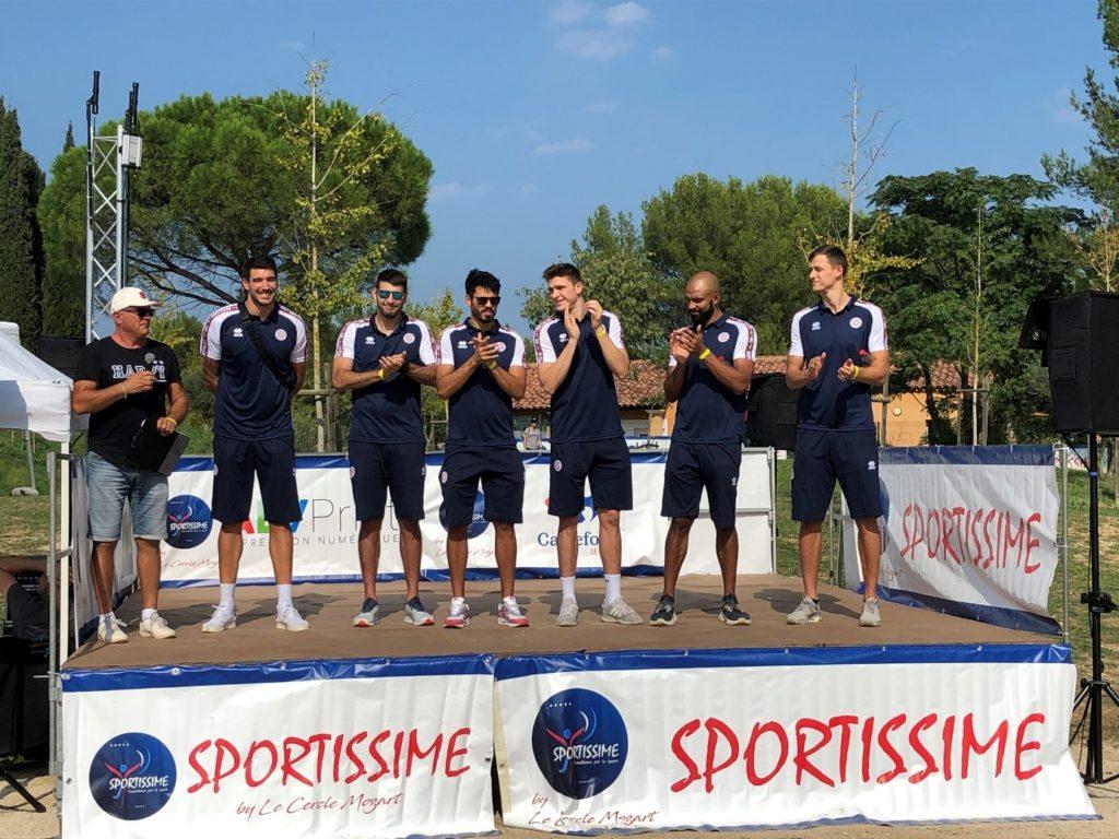 L'équipe du MHSC Volley-ball