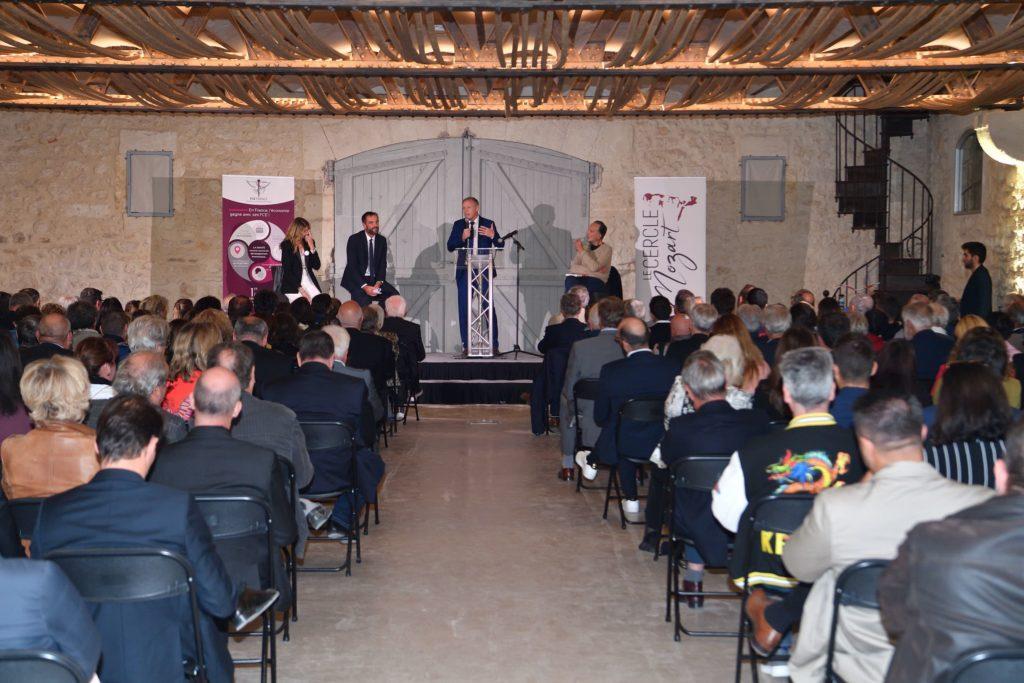 Discours d'introduction de Jean-Marc Maillot, Président du Cercle Mozart